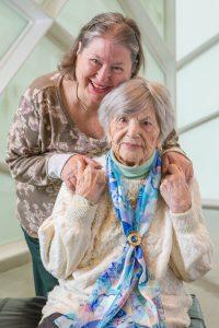 Ethel and Felice Katz
