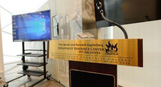 Image of KHC lecture podium